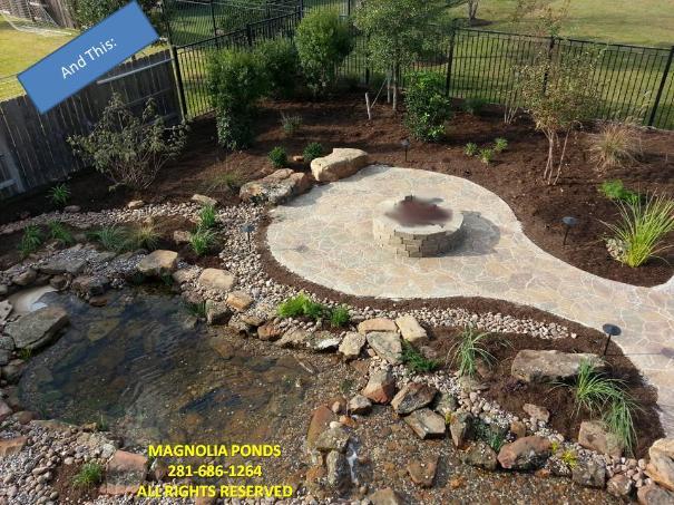 Water gardens spring water gardens conroe water gardens for Pond drain design