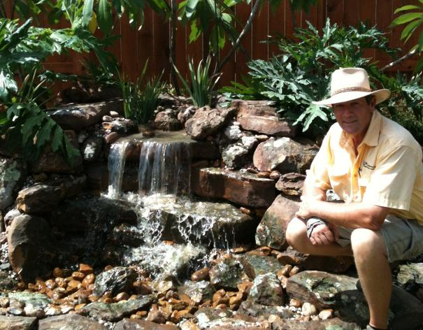 Magnolia ponds and water gardens the woodlands spring texas for Koi pond size requirements