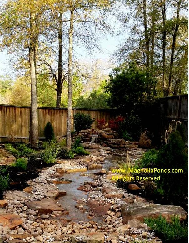 Magnolia ponds for Koi pond the woodlands tx